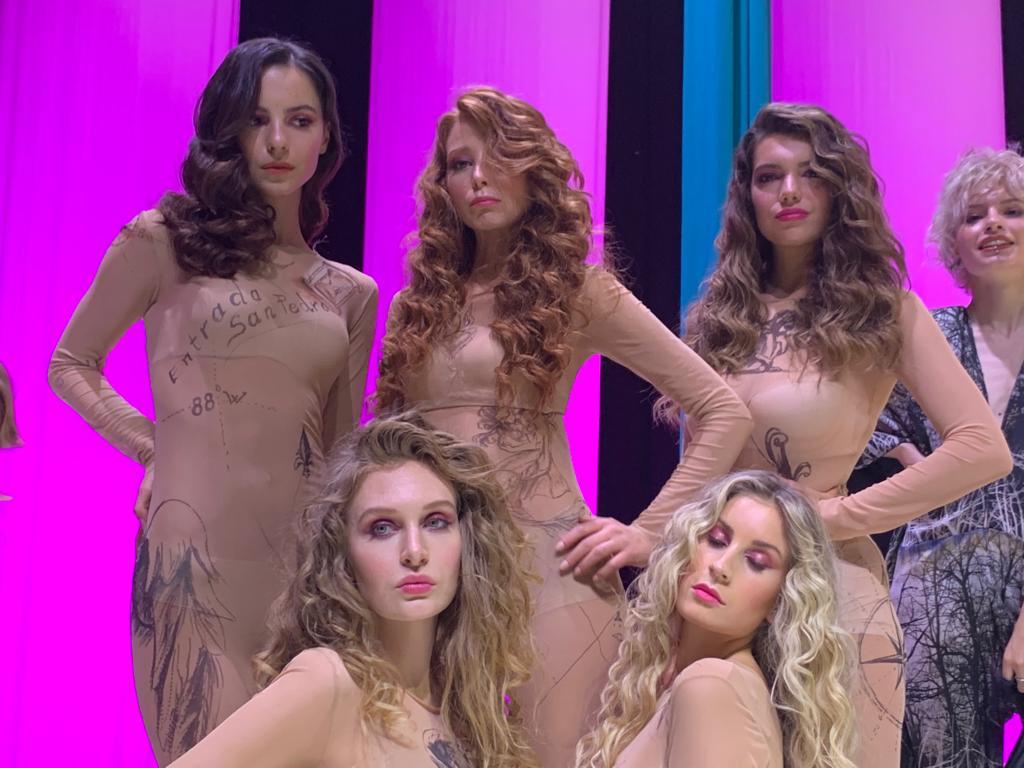 Modelle all'evento ThreeDays International Show 2020